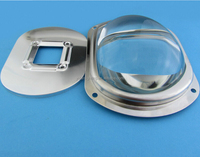 cob led lens,LED glass lens for led Street lamp ,led project light specturum 150*55
