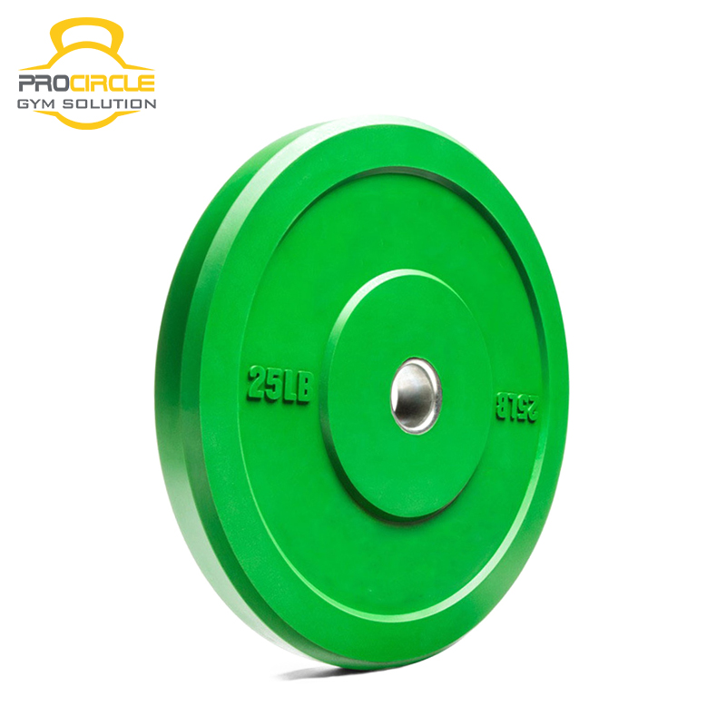 Custom Exercise Virgin Rubber Cast Iron Weight Plate