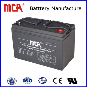100ah light weight lead acid battery recycle