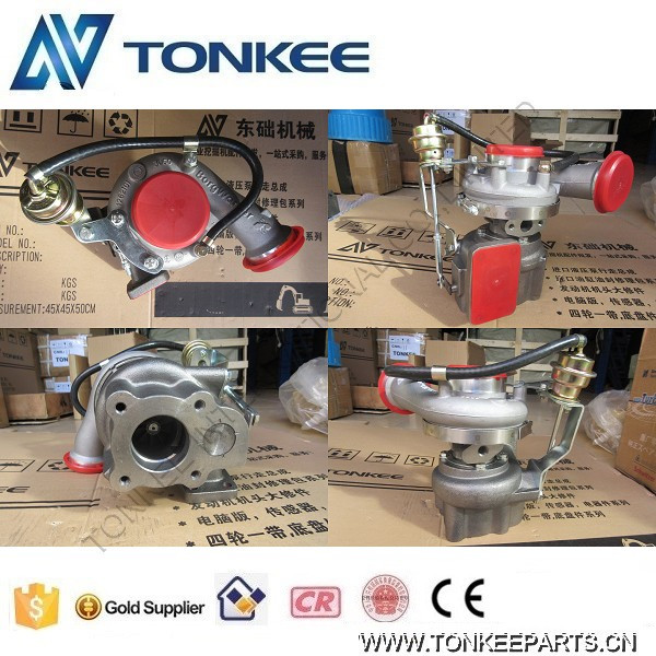 EC210B turbo D6E engine turbo for excavator