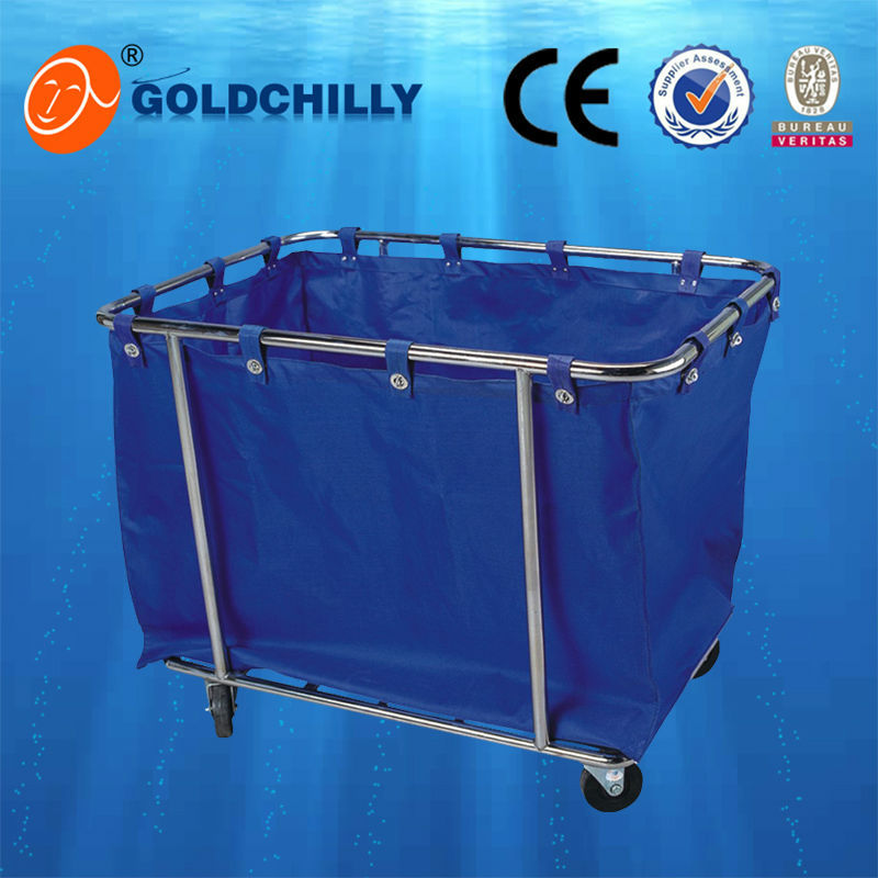 Plastic Laundry Trolley Bin Laundry Carts Large Plastic