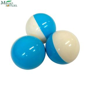 Environment friendly 68cal field class low impact paintball paints with blue white shell & white filling
