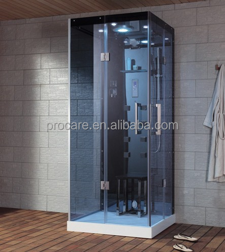 Top portable frameless steam shower/steam shower cheap