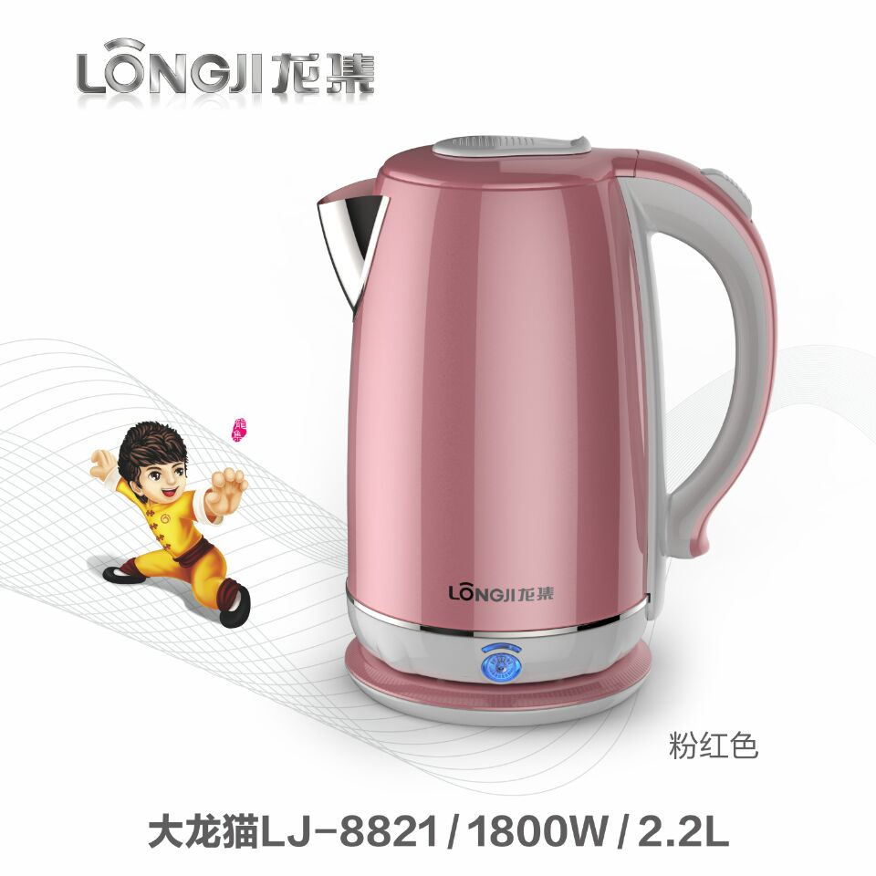 2018 pp body kettle 2000w kettle cordless stainless steel wide kettle stainless steel electric cordless