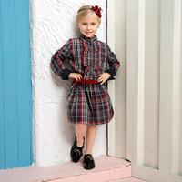 England London Style Fashionable Parent-child Long Dress Design Shirt