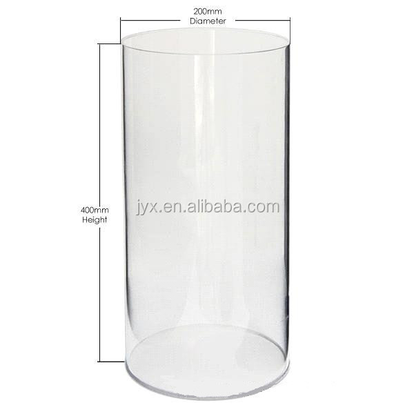 Tubular Perspex Display Clear Acrylic Cylinder