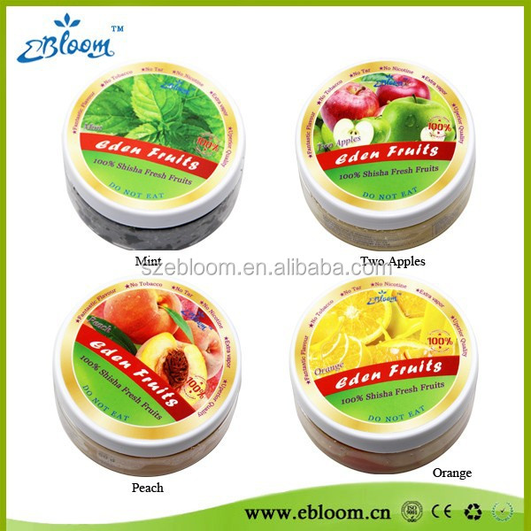 Mint shisha fruits flavours 50g 2015 100% real fruit Molasses