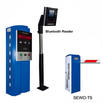 Parking Management System with Card Dispense or Ticket Printing and Car Parking Barrier