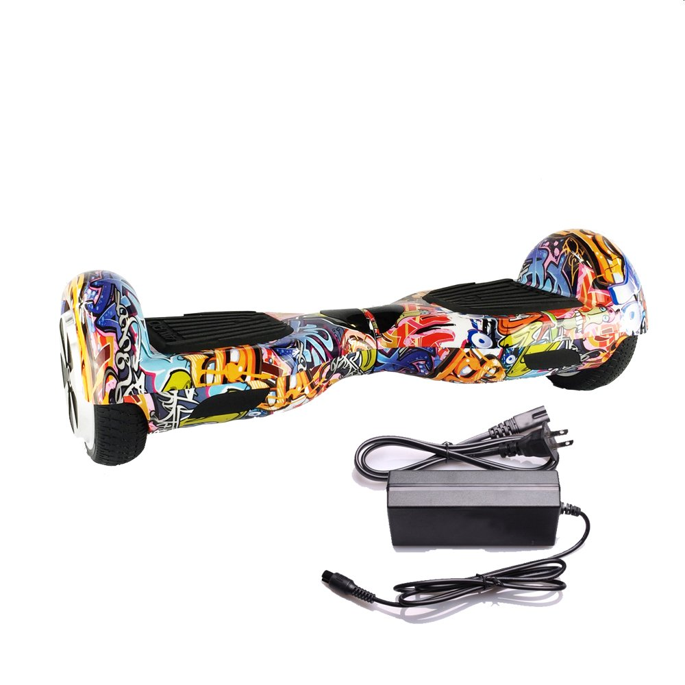 "LA Graffiti 6.5"" UL 2272 Certified Hoverboard - Electric Self-Balancing Scooter"