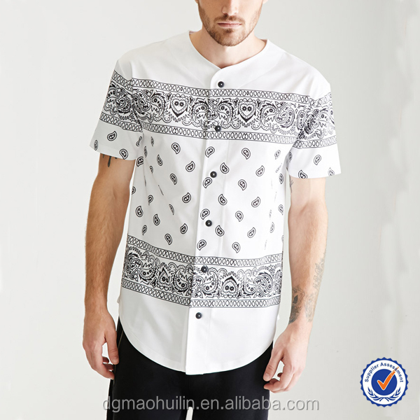 Wholesale Cheap Mens Clothing Collarless Short Sleeve Custom ...