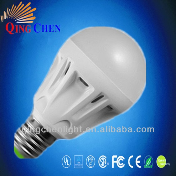 glass cover b22 e27 3w led plastic bulb OEM/ODM