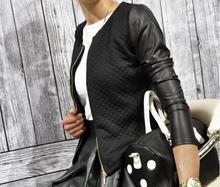 Dámská bunda z umělé kůže, na zip, velikost XXL