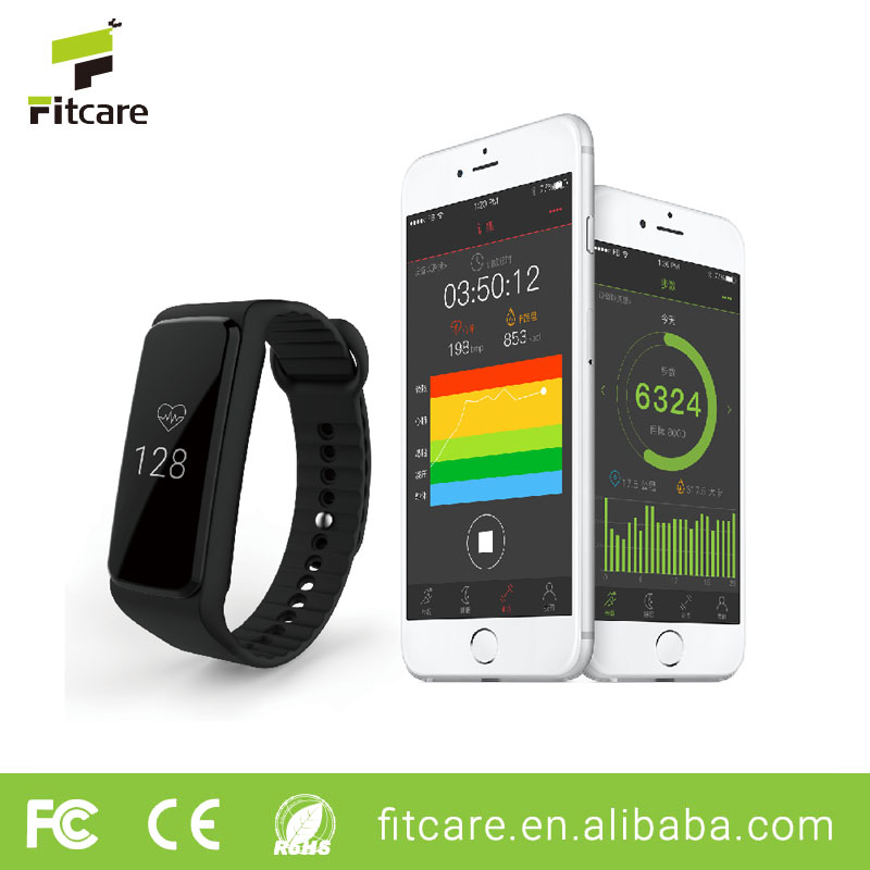 Fitness smart wristband pedometer/ fitbit heart rate monitor watch