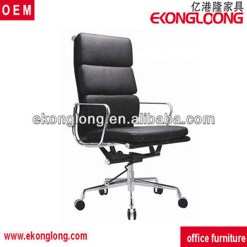 Revolving Genuine Leather Boss Chair