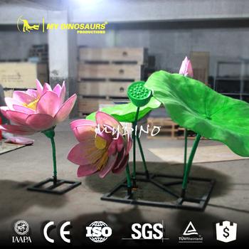 My Dino N609 Led Lotus Flower Sculpture Buy Lotus Flower