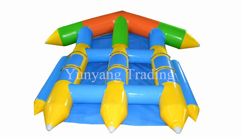 Inflatable banana boat for sale,Flying Fish Boat