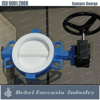 Casting CI/DI/SS Lever/Gear/Manual Electric/Pneumatic Wafer/Lug/Eccentric/Flanged/Check Resilient Butterfly Valve/Valves