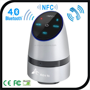 Amplified Speaker Vibration NFC 26 Watt Power with Built-in MIC Handsfree Phone Call
