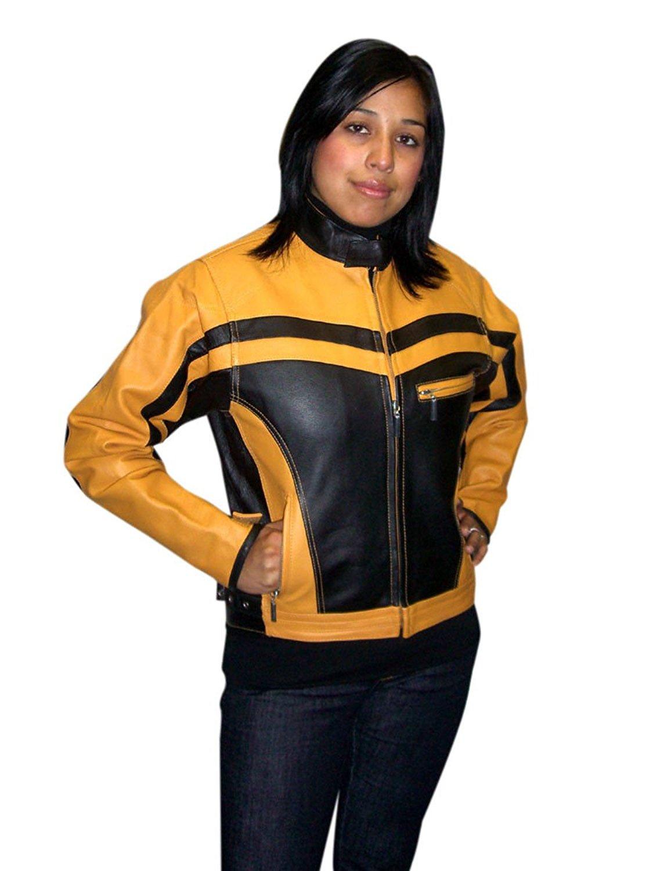 BuZaiYouYu Men`s Casual Slim Fit Rider Trucker PU Faux Leather Jacket Fashion