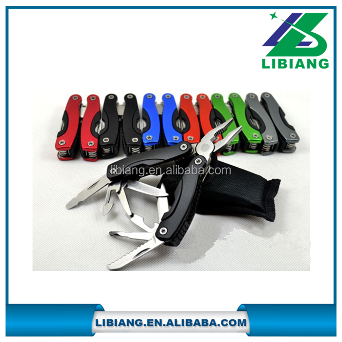Mini stainless steel multifunctional portable folding combination pliers