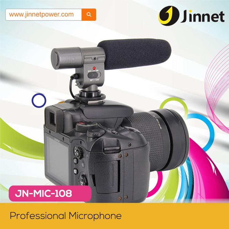 External Unidirectional Studio Setero Microphone for Conference Car Notebook Camcorder DV