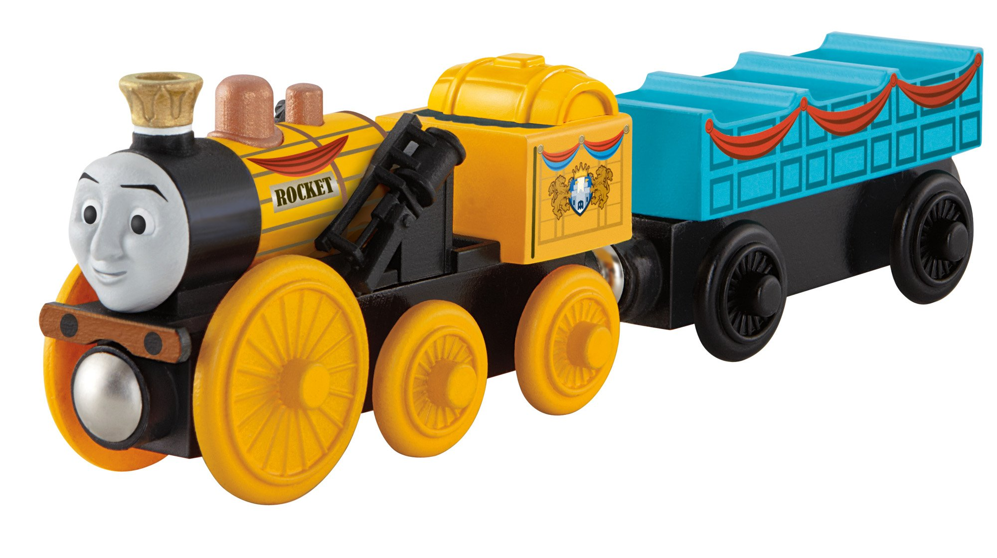 Fisher-Price Thomas the Train Wooden Railway Stephen Engine