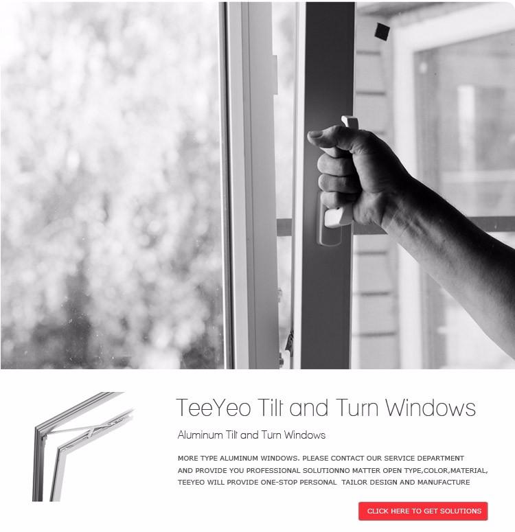 Teeyeo Home Depot Aluminiumlegierung Gerahmte Drehkipp Türen Und ...