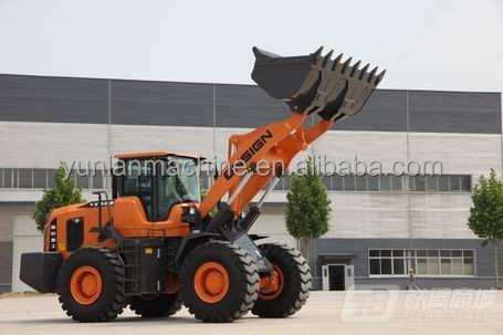 Qualified Cheap 5 ton Wheel Loader Payloader for Sale