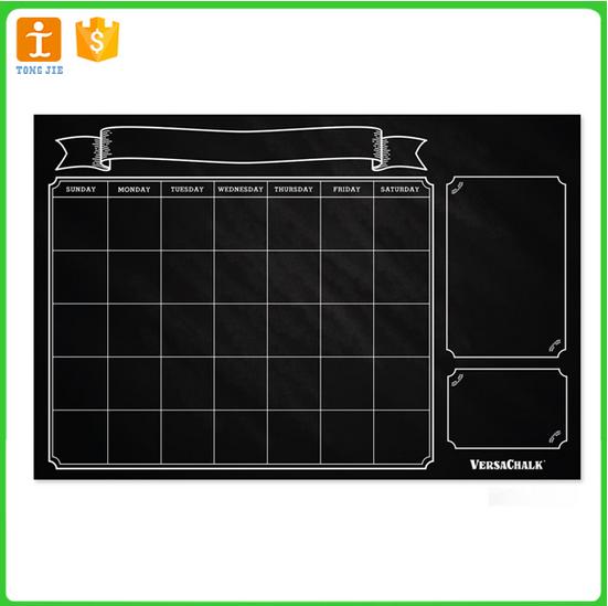 Chalkboard Calendar Organizer : Quality and quantity sured magnetic fridge board large