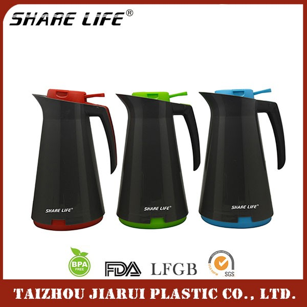 Factory Sale Various Widely Used Thermo Water Bottle Plastic Coffee Pot Cafetera