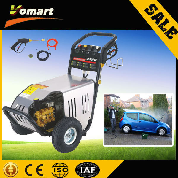 CE 220V 130bar elctric high pressure car washer/car washing machine/car washer pump