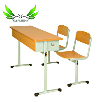 Wooden School Tables Chairs Used Study Table And Chair Set Sf 03d