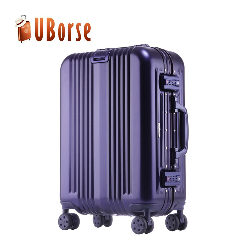 20'' 24'' 28'' full aluminum luggage case spinner trolley suitcase set