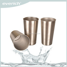 Everich New 18/8 stainless steel beer cup tumbler