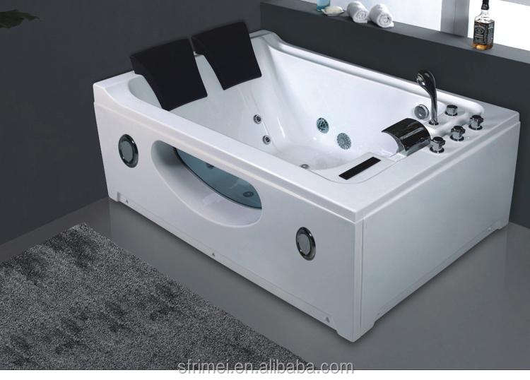 K-8937 Portable Bathroom Hydro Massage Acrylic Bath Tub With Led ...