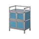 China supplier, 2-layer aluminum shoe rack cabinet