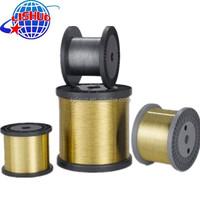 EDM Brass Wire/Golden Yellow EDM Brass Wire