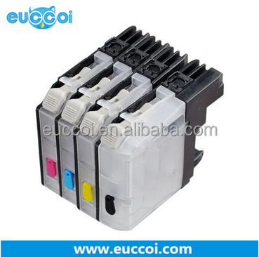 printer consumable high quality ink cartridge for LC123 BK C M Y new compatible for LC 123