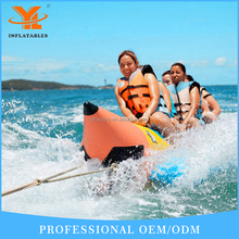 The Best PVC Tarpaulin Inflatable Water Banana Boat Inflatable Pedal Boat