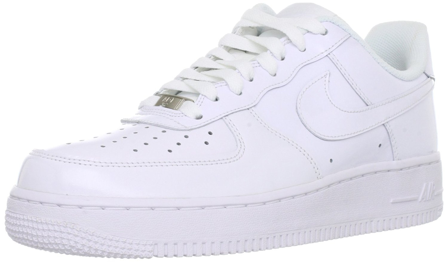 arrives aa123 1ac61 Get Quotations · Nike Men s Air Force 1, WHITE WHITE-WHITE