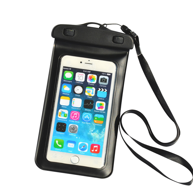 Underwater Waterproof Dry Case Bag PVC Transparent Touch Screen Cell Phone Pouch <strong>Cover</strong> for Samsung Galaxy s7