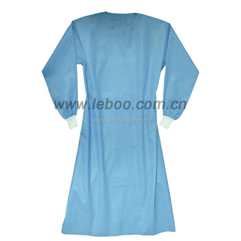 Sterile Disposable Non-reinforced Sirus Surgical Gowns With Set-in ...