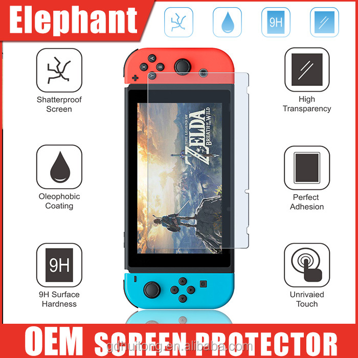 9H 0.33mm 2.5D Tempered Glass Screen Protector For Nintendo Switch, For Nintendo Switch Tempered Glass