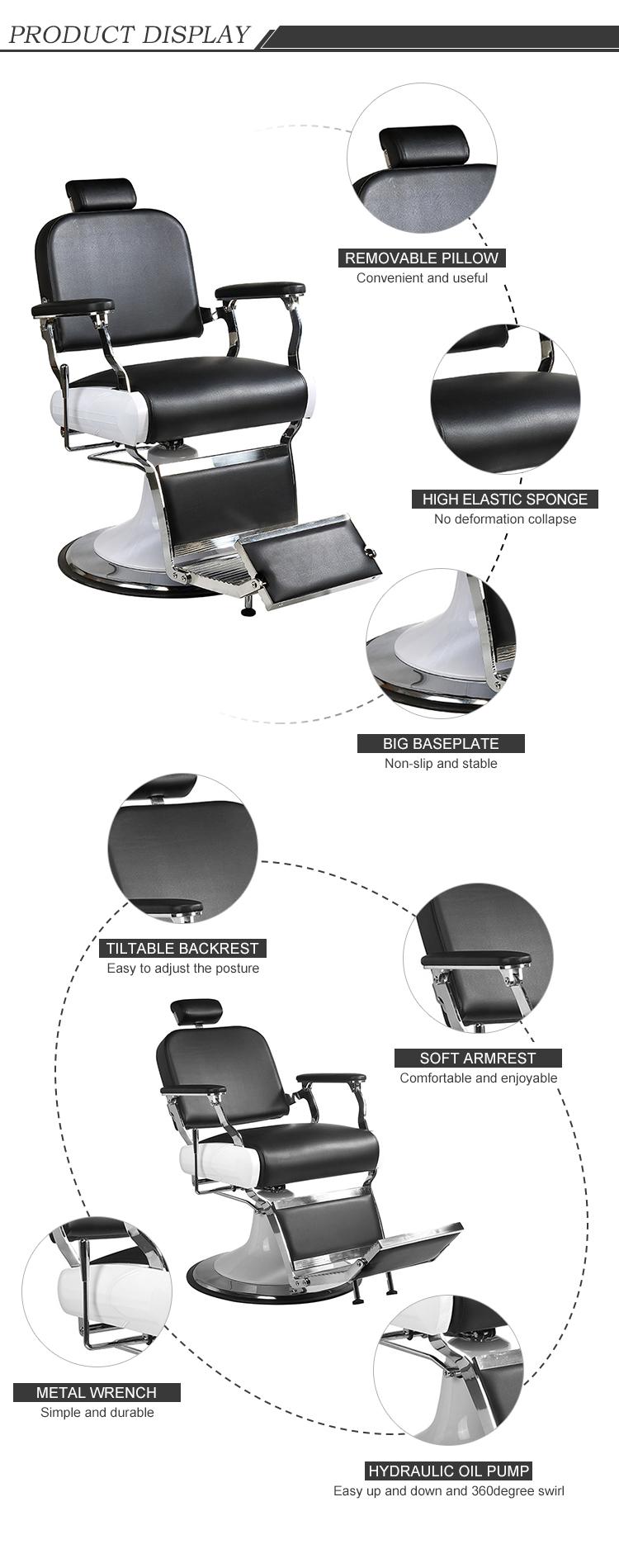 HL-31828-P3 man barber chair for salon furniture