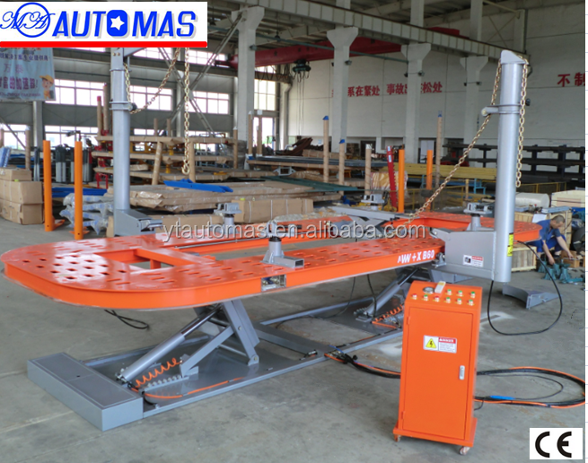 2016 hot sales CE Approved car bench/auto body repair tools/car frame machine