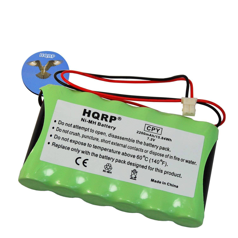HQRP Battery compatible with Ademco Honeywell LYNX LYNXRCHKITSHA LYNXRCHKIT-SHA Replacement plus HQRP Coaster