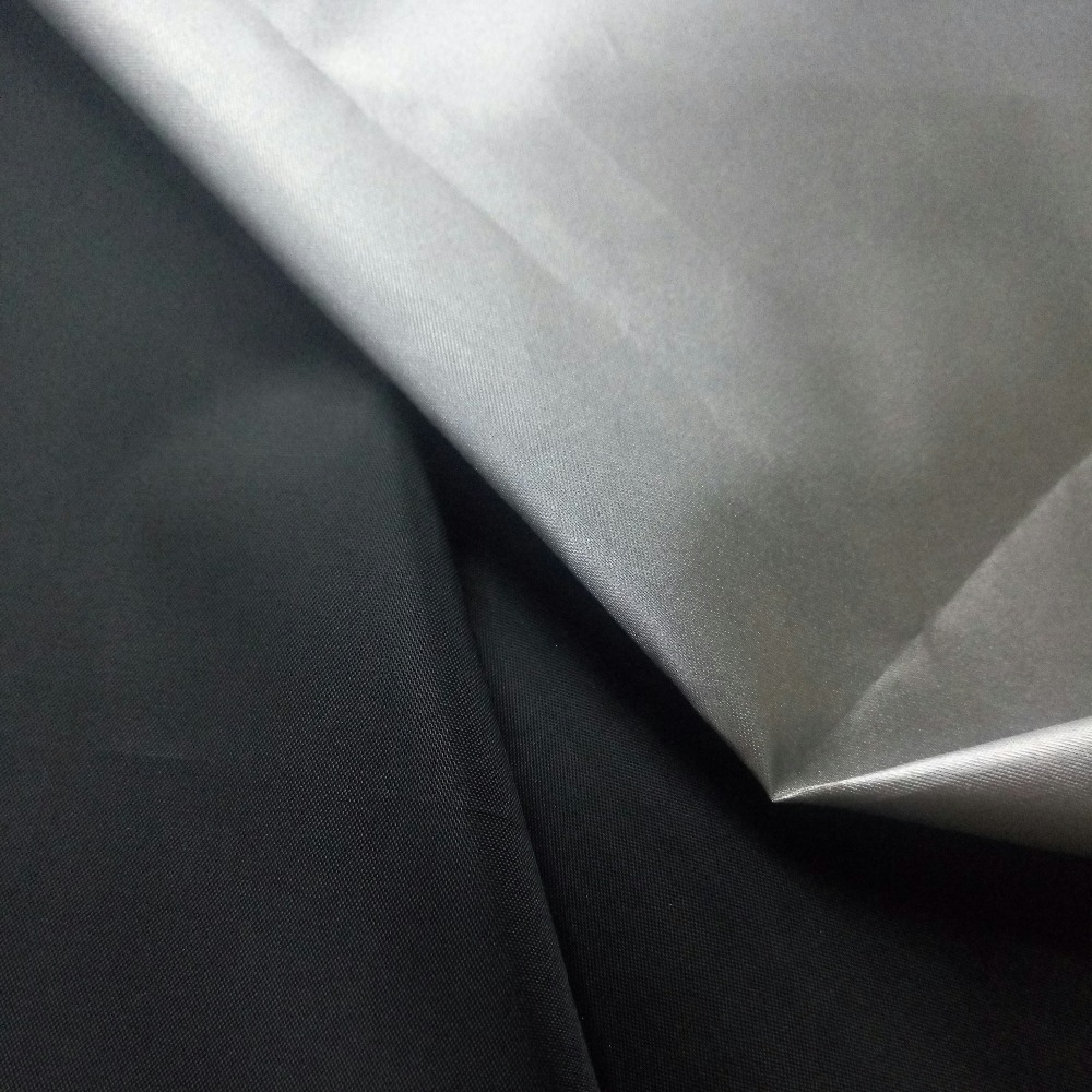 170T 190T 210T Polyester Taffeta Silver Coated Waterproof Lining Fabrics for Lining Car Cover