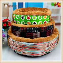Wholesale Manufacturers Arctic Cashmere Three Fragment Pet Bed Dog And Cat Bed