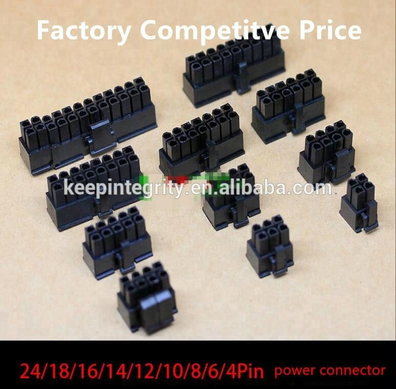 Factory 4.2mm socket 8-Pin Male 6+2Pin Power Connector with Terminal