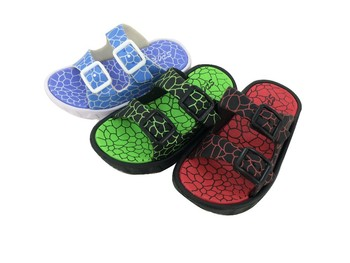 hot double colour kid eva sandalspvc clogs - Colour Kid